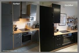 einbau küche streichen möbel fronten renovieren mit