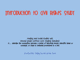 Civil Rights Movement Unit I Created This In Order To Cover Common Core Standard Describe The Connection Between A Series Of Historical Events