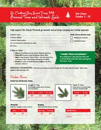 75 Ft Christmas Tree by Boy Scout Christmas Tree And Wreath Sale
