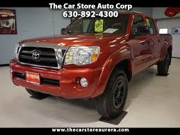Used 2007 Toyota Tacoma For Sale In Aurora, IL 60506 The Car Store ... Get Truckin With A Used Chevy Colorado Pickup Chevrolet Of Naperville New And Silver Trucks For Sale In Champaign Illinois Il Near O Fallon Ford Dealer Mount Vernon Cars Gmc For Sale Carmax 2007 Toyota Tacoma Aurora 60506 The Car Store Lease Finance Specials Matteson Sparta Sierra 1500 Vehicles Dave Sinclair Chrysler Dodge Jeep Ram Galesburg Nissan Titan Near Niles Cheaper Plano Caforsalecom