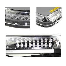 100 Emergency Strobe Lights For Trucks Amber Green 44LED Light Magnetic Base