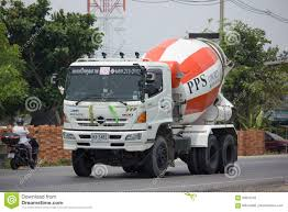 100 Concrete Truck Delivery Cement Of PPS Company Editorial Photography Image