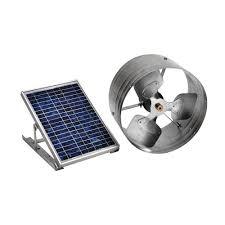 Bathroom Fan Soffit Vent Home Depot by Master Flow 500 Cfm Solar Powered Gable Mount Exhaust Fan Pgsolar