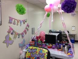 Flower garden birthday theme for coworkers birthday