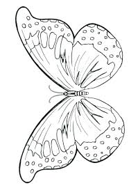 Monarch Coloring Page Of Butterfly Free Online Printable Kids Colouring Pages Wings Caterpillar Mon