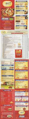 Pizza Cottage Rushey Mead Leicester Menu