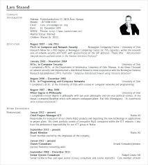 Template Resume Word Samples Latex Sample Templates Curriculum Vitae