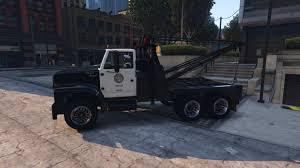 100 Gta 4 Tow Truck LSPD Truck GTA5Modscom