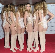 Heidi Klum Halloween 2011 by Heidi Klum U0027s Halloween U0027clones U0027 Costume Cost A Whopping 8million