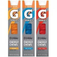 Super RARE Three BOGO Gatorade Printable Coupons Recover Shake Prime Energy Chews And Whey Protein Bar