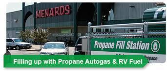 Propane Fueling Stations at Menards