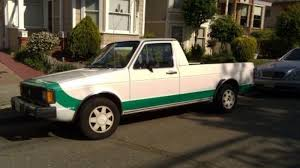 100 Rabbit Truck 1982 Volkswagen Pickup