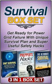 Get Quotations Survival Box Set Ready For Power Grid Failure With Unique Plan And Super