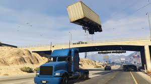 GTA 5 - Semi Truck Stunt With C4 Nuke Mod | Crazy | Pinterest | Semi ...