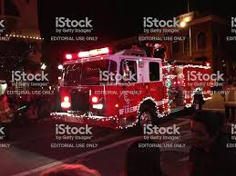 Fire Truck With Christmas Lights San Luis Obispo California Stock ... Flashing Emergency Lights Of Fire Trucks Illuminate Street West A New Look Mlivecom The Blur A Truck All Decorated With Christmas In Firetruck At Scene Night Hi Res 39910081 Two Traffic Siren And Flashing To Ats Fire Trucks Running Lights Sirens Night Youtube Truck On Video Clip 74065002 Pond5 Firetruck Awesome Looping Footage 9930648 Engine Horn