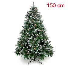YORBAY Sapin De Noël Avec Pied 150 Cm Décoration De Noël