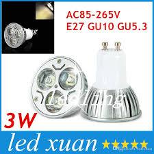 e27 spotlight high power 3w led cup l e26 gu10 led bulbs