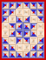 Quilting Assistant Free Pattern Traditional Log Cabin Block