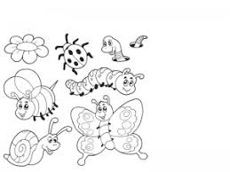 Bugs Coloring Pages Cool 3