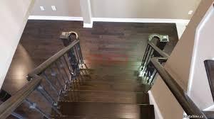 Restaining Hardwood Floors Toronto by Stair Refinishing In Toronto Ontario U2013 Strataline Inc