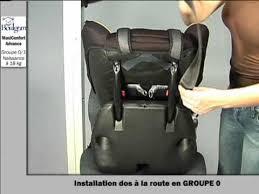 installation du maxiconfort siège auto groupe 0 1 boulgom