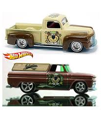 Hot Wheels Yogi Bear 2 Car Set '64 Gmc Panel & '49 Ford F1 Pickup In ...