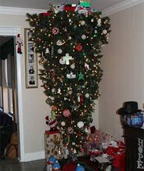 Fancy Idea Hanging A Christmas Tree Upside Down