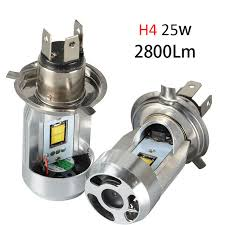 all in one 9003 hb2 led h4 led headlight bulbs wireless play and