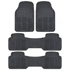 Motor Trend Eco Odor-Free Floor Mat Van Truck Black 3 Row All ... Universal Fit 3pc Full Set Heavy Duty Carpet Floor Mats For Truck All Weather Alterations Weatherboots Gmc Sierra Accsories Acadia Canyon Catalog Toys Trucks Husky Liner Lloyd 2005 Mustang Fs Oem Rubber Floor Mats Mat Rx8clubcom Amazoncom Front Rear Car Suv Vinyl Interior Decoration Suv Van Custom Pvc Leather Camo Ford Ranger Best Resource Smokey Mountain Outfitters Liners