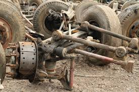 100 Truck Suspension Pile Of Metal Scrap Of Stock Photo Picture And