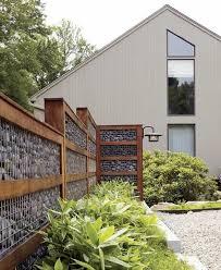 mur de separation exterieur les 25 meilleures idées de la catégorie clôtures de séparation sur