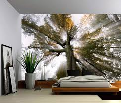 sun tree rays of light large wall mural self adhesive