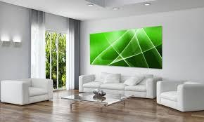 dekor echtglas ag312500257 bild abstrakt style grün 125x50cm