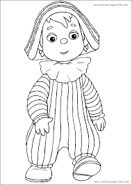 Andy Pandy Free Printable Coloring Pages