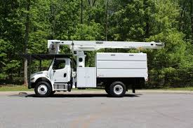 100 Forestry Bucket Truck For Sale FREIGHTLINER Boom S