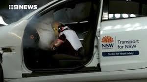 crash test siege auto formula baby automotive headlines 9news