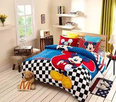 kids christmas good quailty mickey mouse queen sheet set bedding