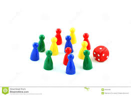 Boardgame Pieces Stock Image Of Piece Play Isolated