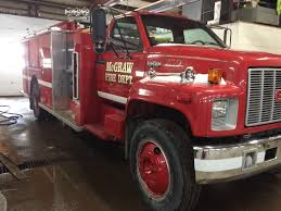 1992 GMC Top Kick Fire Truck.Village Of McGra...   February ... 1991 Gmc Topkick Ss Tanker Fire Tankers For Sale 2008 Ferra 4x4 Wildland Unit Used Truck Details 1955 Pumper03 Vintage Equipment Magazine About That Dog 1940 Engine Retro Car 1942 Release Editorial Stock Image Of Ranger Fire Apparatus Corgi Heroes 1966 Pumper Chicago Department Cs90009 1985 7000 Fire Truck Item Dc3825 Sold November 7 Go 1986 American Eagle 1987 Eone