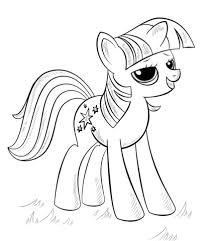 Princess Alicorn Coloring Page