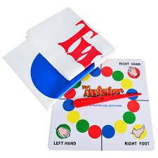Bohs Classic Kids Body Twister Moves Game Play Mat Board Group Party Picnic Fun Outdoor Sports Toys