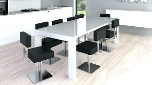 table de cuisine ronde en verre table ronde design avec rallonge thebattersbox co