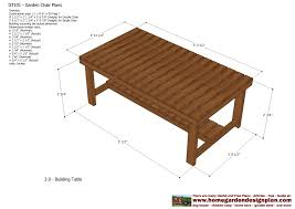 home garden plans gt101 garden teak table plans out door