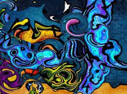 Cool Abstract Art Wallpaper