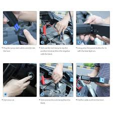 100 Tow Truck Jumper Cables Anypro The Safest Car Jump Starter 600A Peak 15000mAh Car