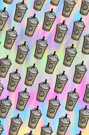 Background Coffee Colors Cute Starbucks Wallpaper Wallpapers