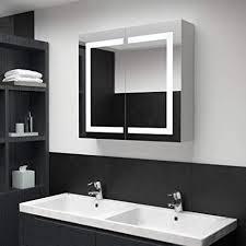 unfadememory led bad spiegelschrank badezimmerspiegel mit beleuchtung badezimmer hängeschrank wandschrank mit spiegel badezimmerspiegel wandmontage