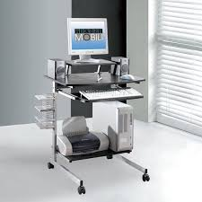 Techni Mobili Computer Desk With Side Cabinet by Best 25 Mobile Computer Desk Ideas On Pinterest White Corner