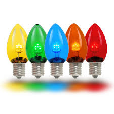 buy led c7 glass replacemnt bulbs novelty lights inc