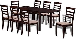 de festnight esstisch mit 8 stühlen essgruppe